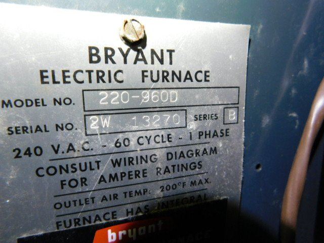 [SCHEMATICS_48IS]  Bryant HVAC age - Building Intelligence Center | Bryant Electric Furnace Wiring Diagram |  | Building Intelligence Center